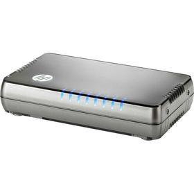 Коммутатор HPE 1405 8G v3 JH408A неуправляемый настольный 8x10/100/1000BASE-T Ош