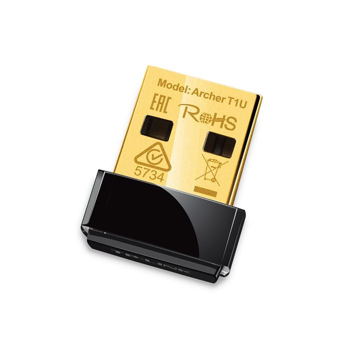 Сетевой адаптер WiFi TP-Link ARCHER T1U USB 2.0