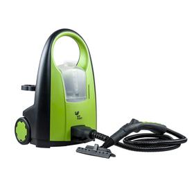 Пароочиститель напольный Kitfort КТ-903 2000Вт зелёный Ош