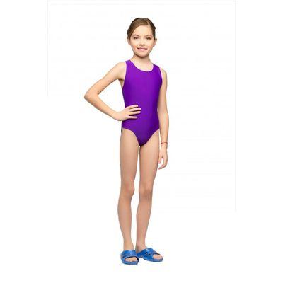 Купальник совместный, размер 30, цвет фиолетовый