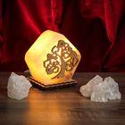 """Соляной светильник """"Дерево"""" малый 9х13 см, деревянный декор"""