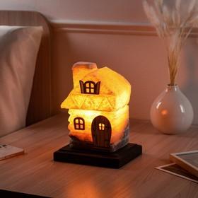 """Соляная лампа """"Сказочный домик"""", маленький, 22 см, 3-4 кг"""
