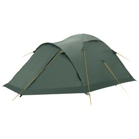 Палатка, серия «Экстрим» Shield 4, зелёная, четырехместная