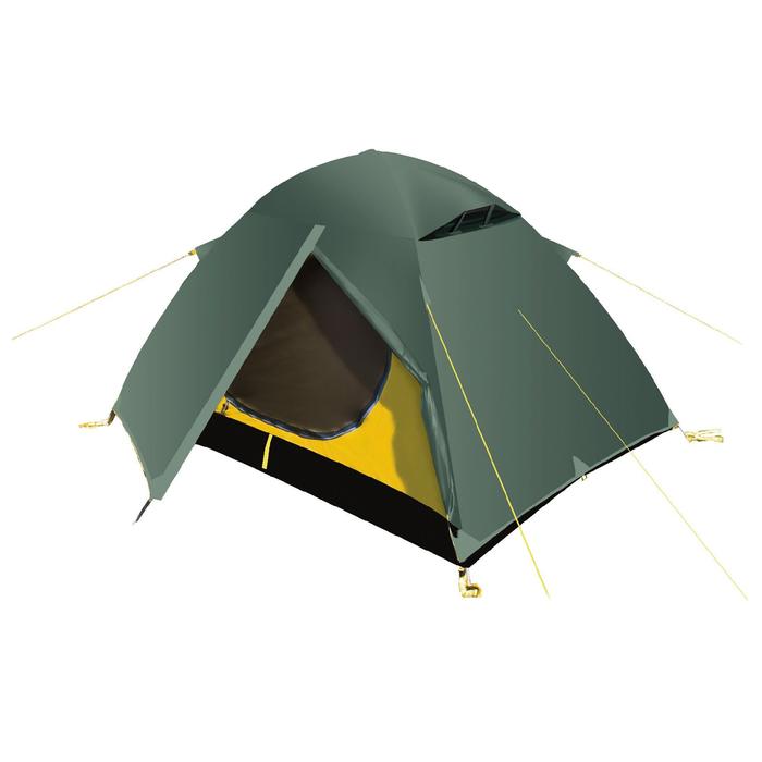 Палатка, серия Trekking Travel 2, зелёная, двухместная
