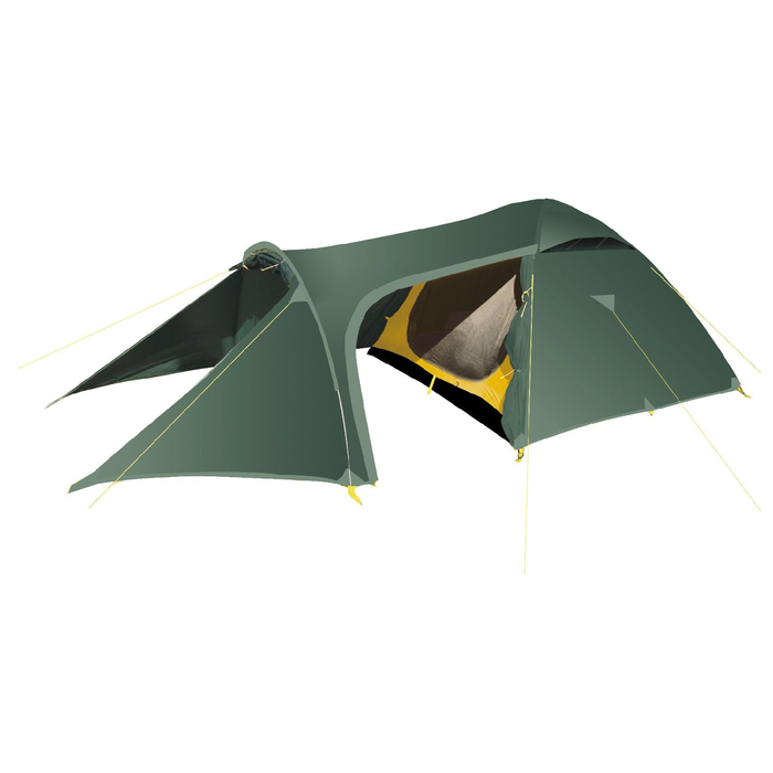 Палатка, серия Trekking Voyager, зелёная, трёхместная