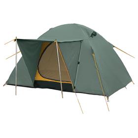 Палатка серия Outdoor line Wing 3, 3-местная, зелёная