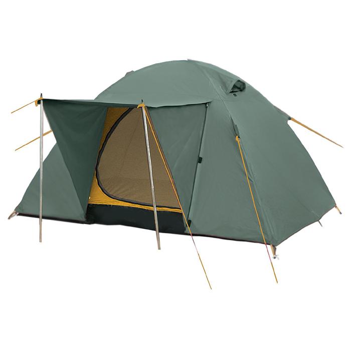 Палатка серия Outdoor line Wing 3, 3-местная, зелёная - фото 36108