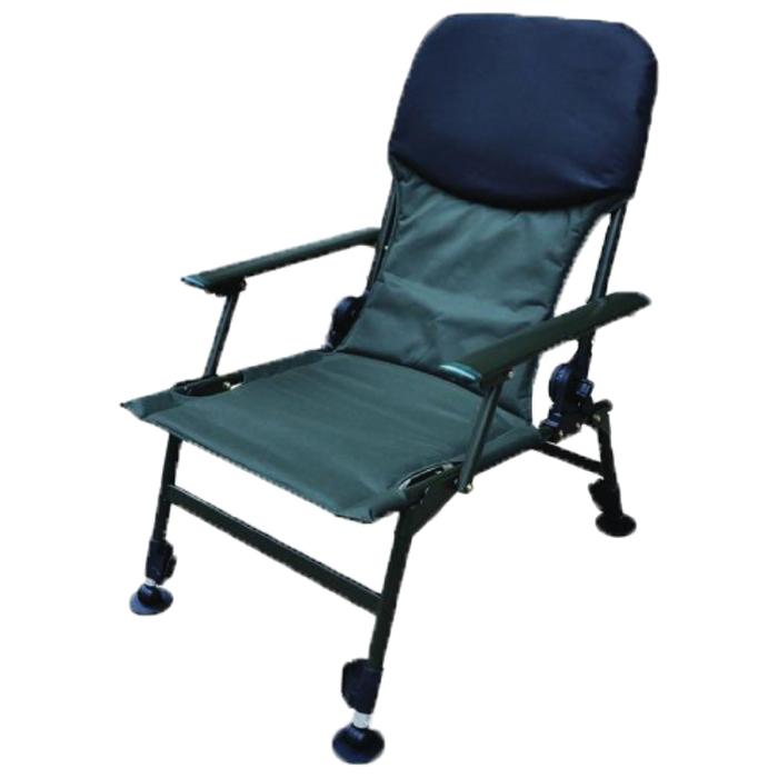Кресло Tackle DLX, до 150 кг, W 48 x D 42 / спинка 60 / ножки 33-44 см