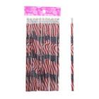 Набор карандашей чернографитных с ластиками 12шт НВ American МИКС в блистере