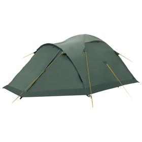 Палатка, серия «Экстрим» Shield 3, зелёная, трёхместная