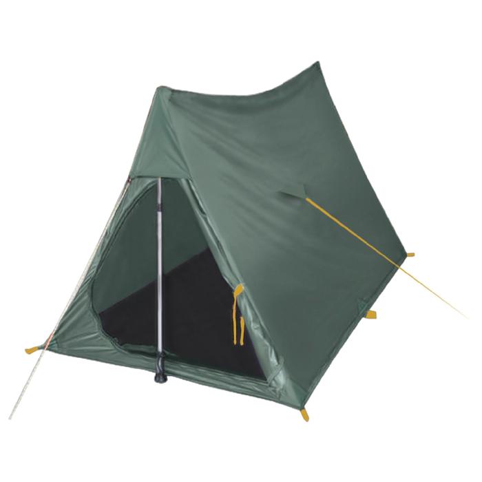 Палатка, серия «Экстрим» Spirit, зелёная, двухместная