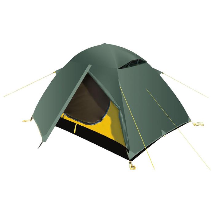 Палатка, серия Trekking Travel 3, зелёная, трёхместная