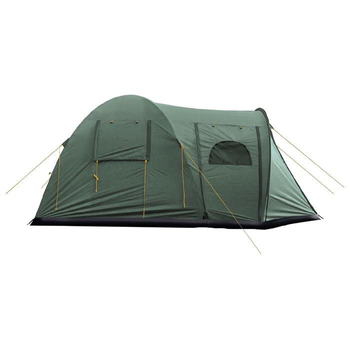 Палатка, серия Casmping Osprey 4, зелёная, 4-местная