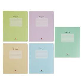 Тетрадь 48 листов в клетку «Люкс», обложка мелованный картон, выборочный лак, МИКС