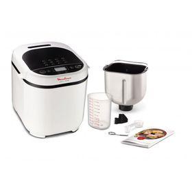Хлебопечка Moulinex OW210, 650 Вт, 12 программ, 3 степени обжарки, белая