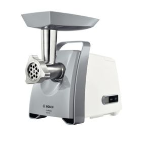 Мясорубка Bosch MFW45020, 1600 Вт, реверс, белая/серая