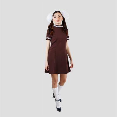 """Платье """"Отличница"""", размер 46-48"""