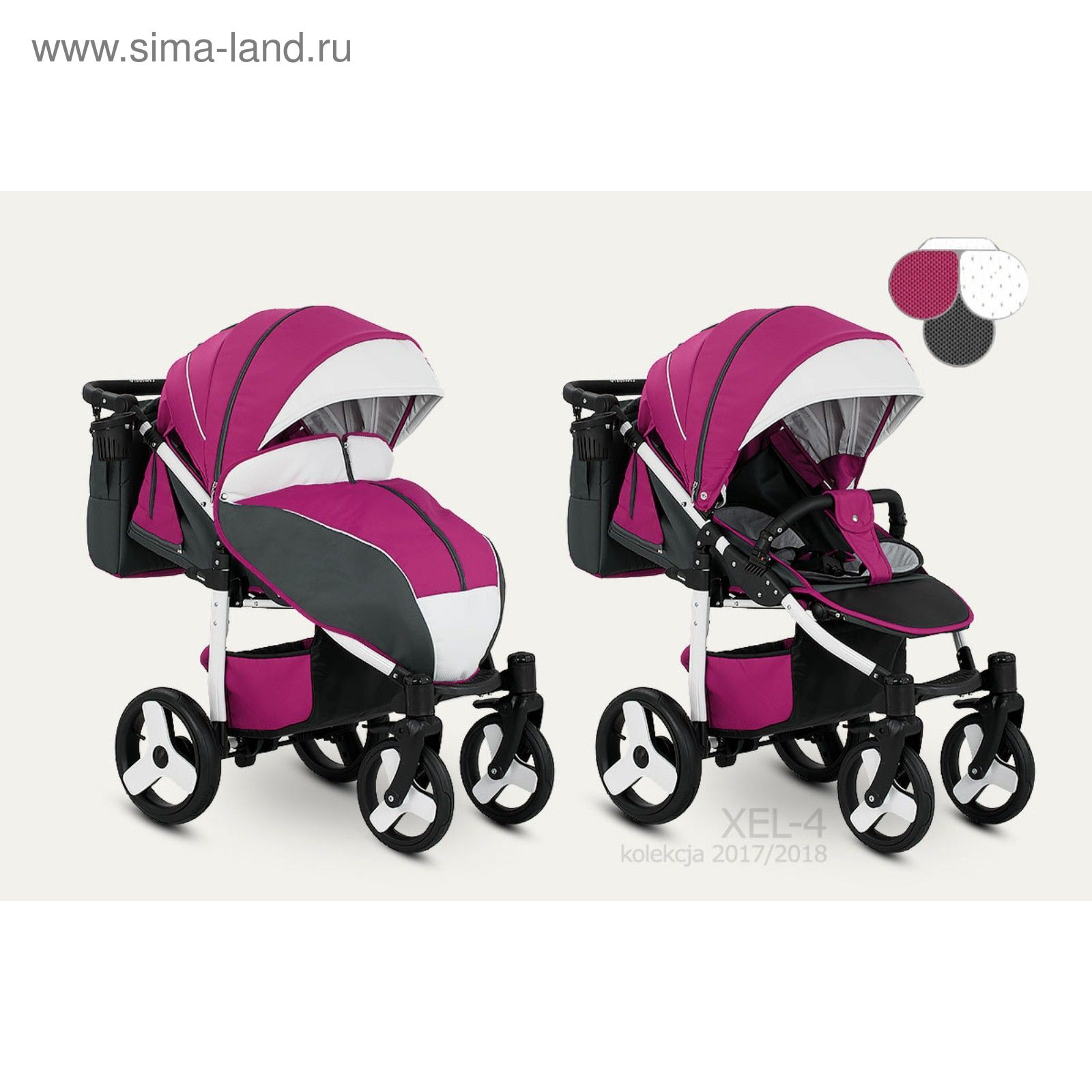 61a5f984f182cb Прогулочная коляска Camarelo Elf (Камарело Эльф) (цвет ХEL-04 ...