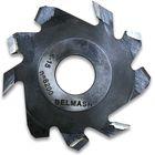 Фреза пазовая с подрезающими зубьями, BELMASH 125×32×4 мм