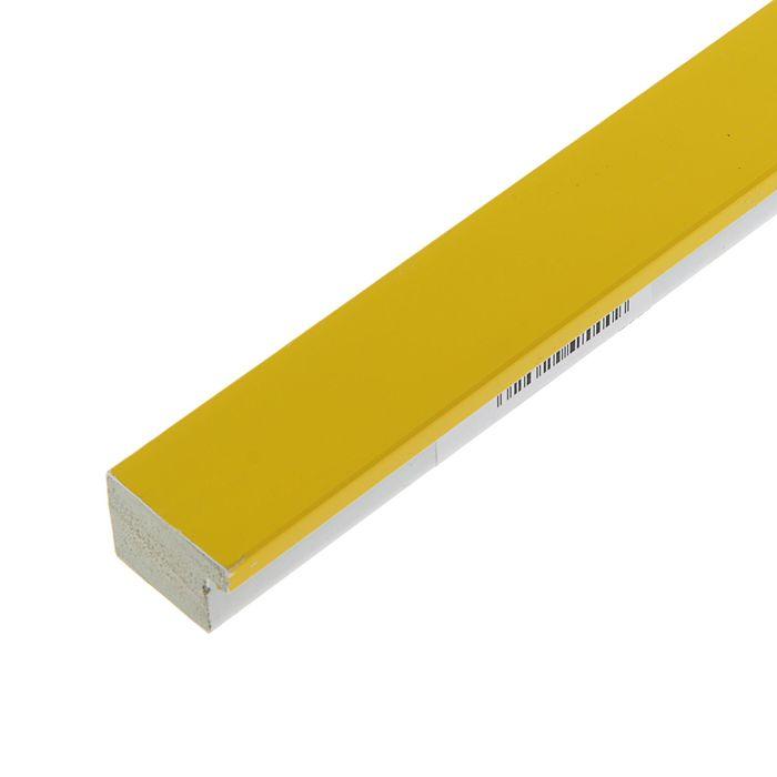 "Багет пластиковый 31мм*22мм*2.9м (Ш*В*Д) ""ШХ"" 280-3122 желтый"