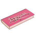 "Конверт деревянный ""Princess"" розовый, 17 х 8,5 х 2 см"