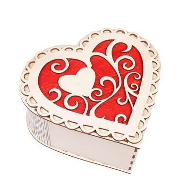 Набор 3в1 «Сердце», 21х 20 х 10 см - 11 х 10 х 5 см