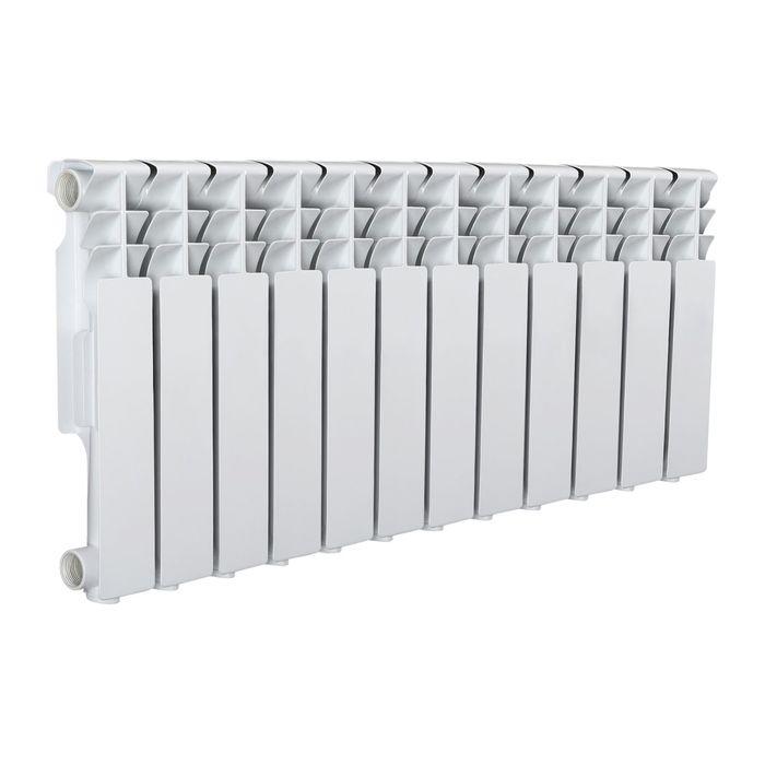 Радиатор Tropic 350x80 мм алюминиевый, 12 секций