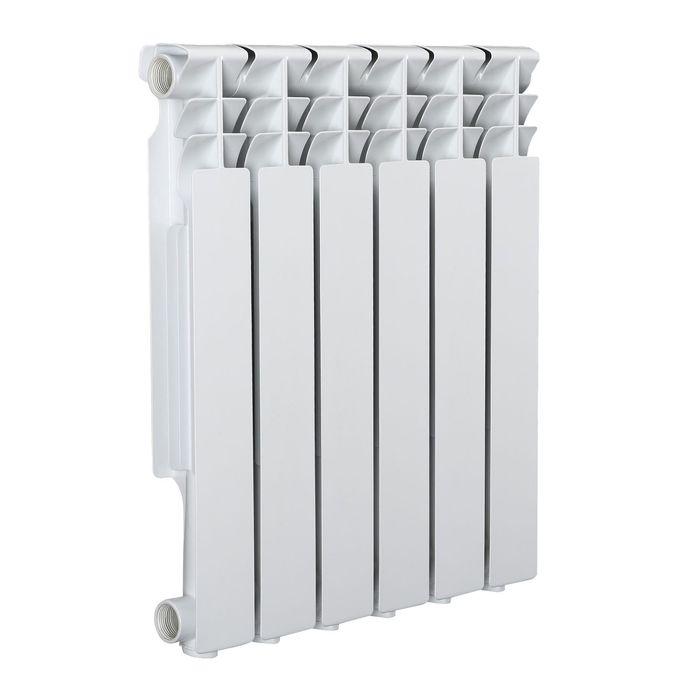 Радиатор Tropic 500x80 мм алюминиевый, 6 секций