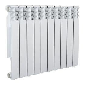 Радиатор Tropic 500x80 мм алюминиевый, 10 секций Ош