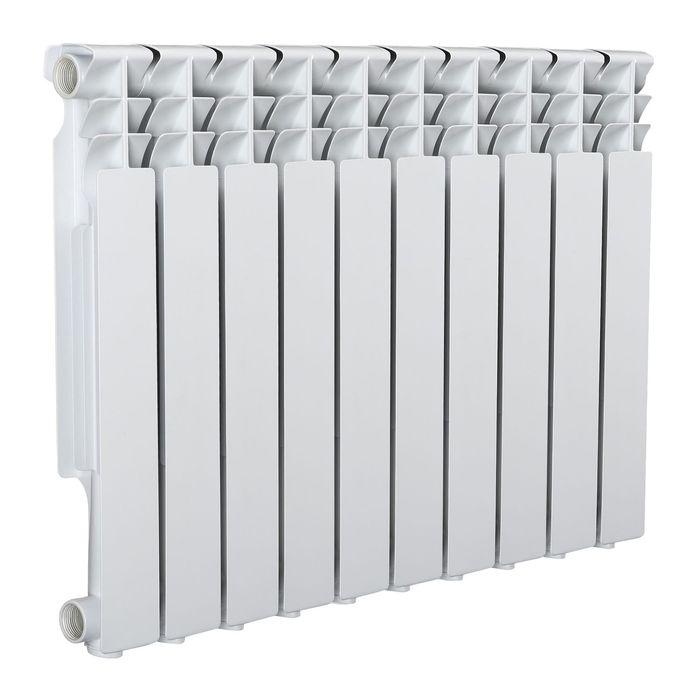 Радиатор Tropic 500x80 мм алюминиевый, 10 секций
