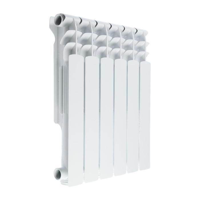Радиатор Tropic 500x100 мм алюминиевый, 6 секций