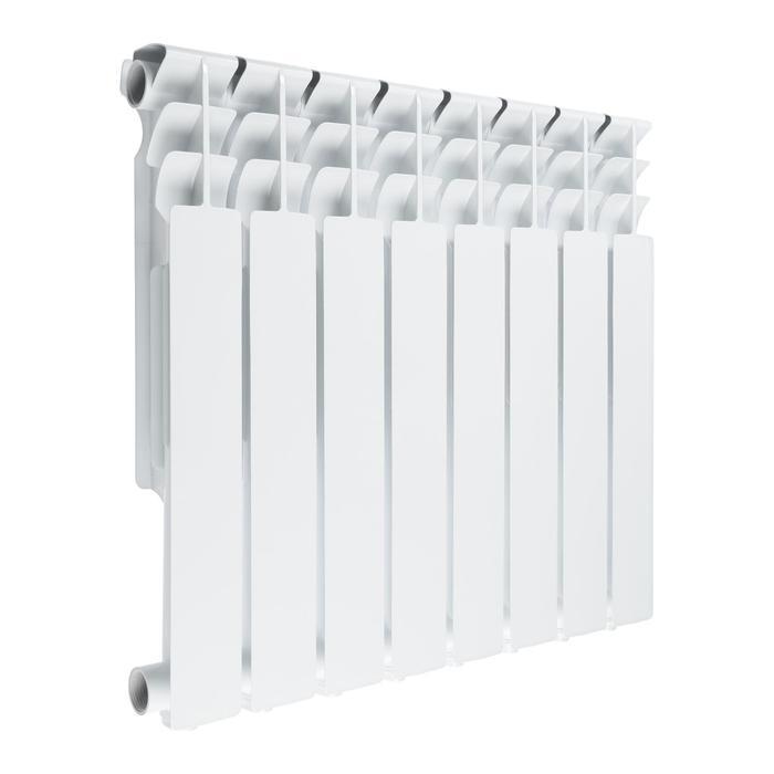 Радиатор Tropic 500x100 мм алюминиевый, 8 секций
