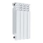 Радиатор Razmorini 500 алюминиевый, 4 секции