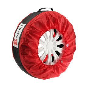 Чехол для хранения колеса TORSO, универсальный, R13-22, микс Ош