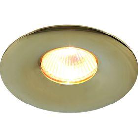 Светильник потолочный Sciuscià, цвет золотой