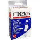 Набор лейкопластырей Teneris  Clear Silver 20 шт