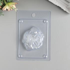 """Пластиковая форма для мыла """"Бутон розы"""""""