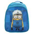 Рюкзачок детский Миньоны. Universal Studios 23*19*8 мал синий/голубой 31908