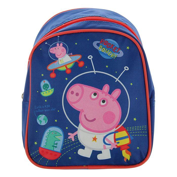 Рюкзачок детский «Свинка Пеппа», 23 х 19 х 8 см, для мальчика, «Джорж»