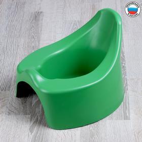 Горшок детский ортопедический, цвет зелёный