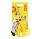 Ножницы детские 13,5 см, «Каляка-Маялка», безопасные, металлические лезвия, пластиковые ручки