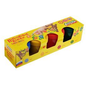 Краски пальчиковые, набор 4 цвета х 120 мл, «Каляка-Маляка»