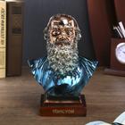 "Souvenir color ""Bust of Leo Tolstoy."" 20,5х15х9,2 cm"