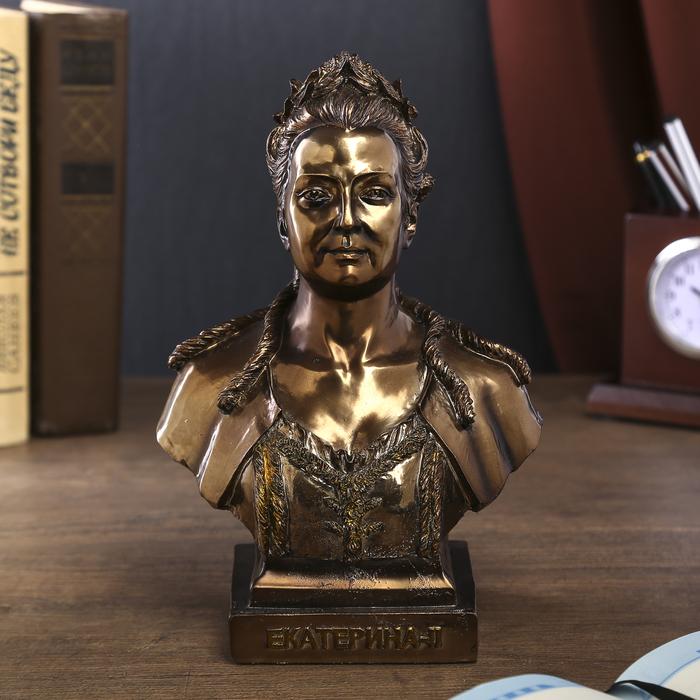 """Сувенир """"Бюст Екатерина-II"""" 21,5х15х9,5 см"""