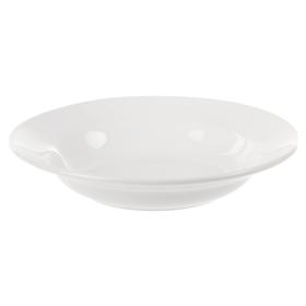 Тарелка глубокая 250 мл, d=20 см, цвет белый