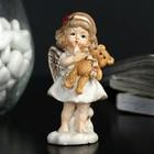 "Souvenir Polyresin ""Angel-a girl with chubby cheeks with bear/heart"" MIX 9x3,5x3,5 cm"