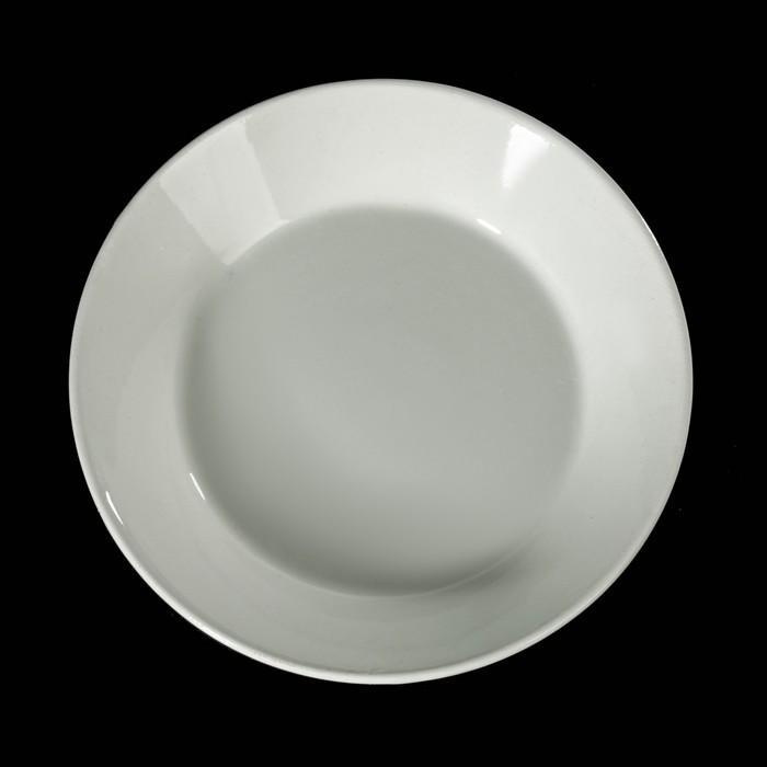 Блюдце-тазик 14 см, 150 мл, цвет белый