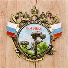 Магнит-герб «Воронеж», 6 х 6 см