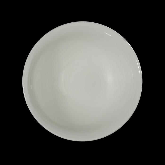 Салатник 600 мл, 15,5 см, цвет белый