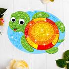 "Mosaic stierna shaped ""Turtle"""